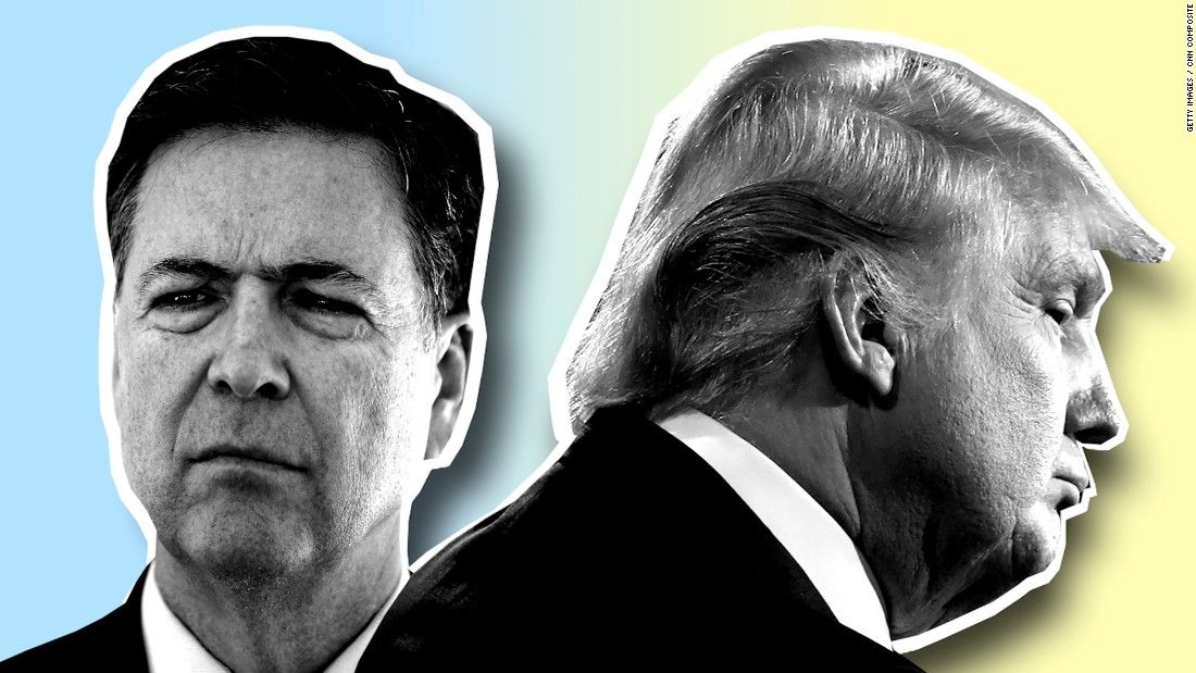 There are two reasons why President Donald Trump fired James Comey, according to a source close to the now-former FBI director: