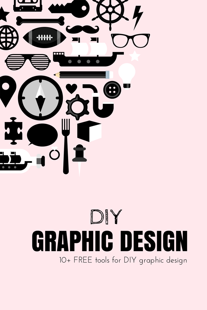DIY 10+ [FREE] Tools for DIY Graphic Design (My Little