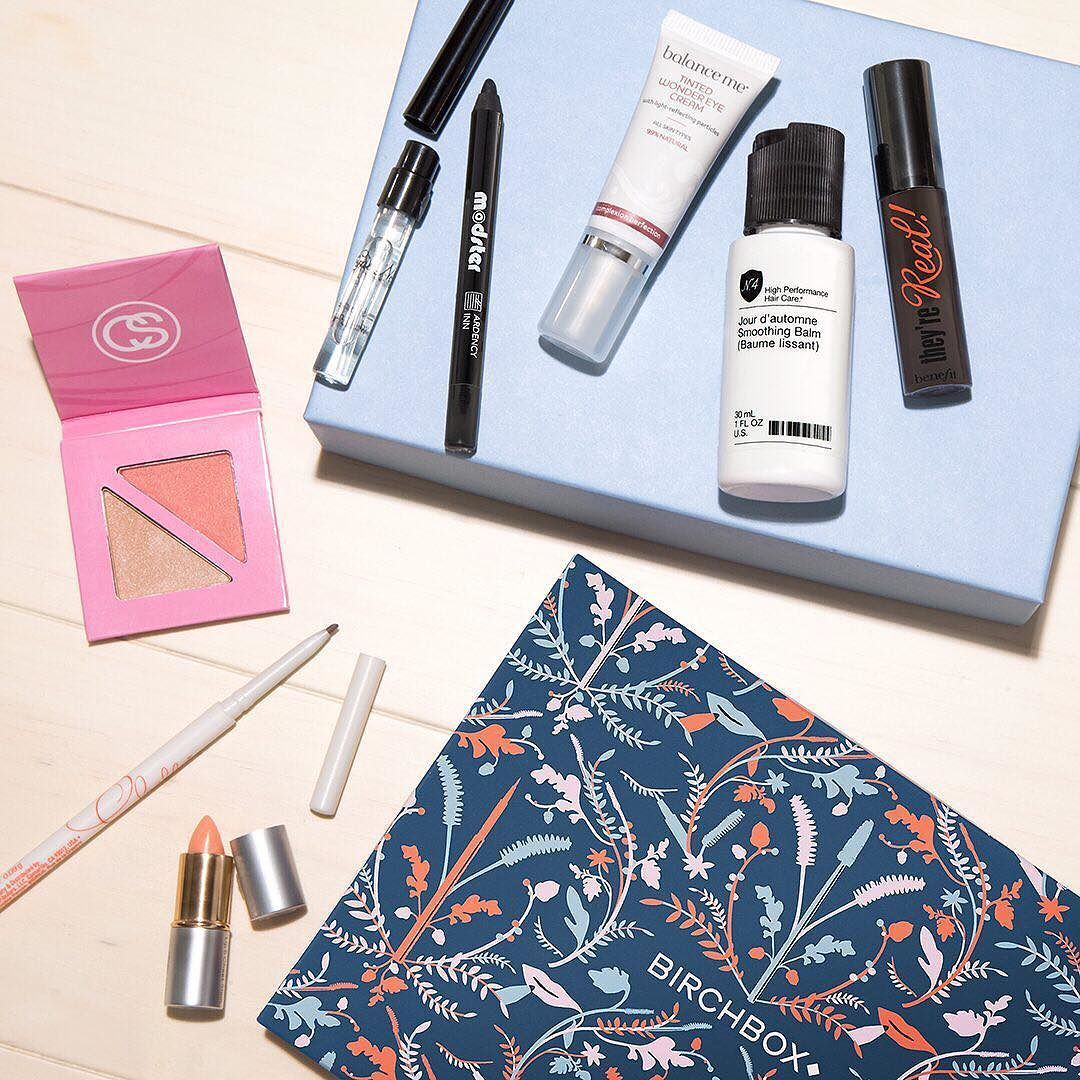 NOVEMBER #BIRCHBOX SAMPLE CHOICE! Join @loreleio and @jdalfeen now on #FacebookLive (http://birch.ly/1VAGNjk) to chat about next months box customization and add-ons then start making your choices now via link in bio (or http://birch.ly/1O1YeVX).
