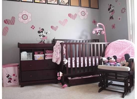 Future Baby T Girl Would Have A Minnie Nursery Baby Girl Room