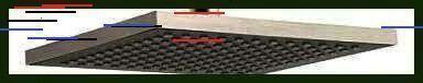 Microfiber Bath Mat, Striped Bathroom Rug, in Gray/Yellow, 60