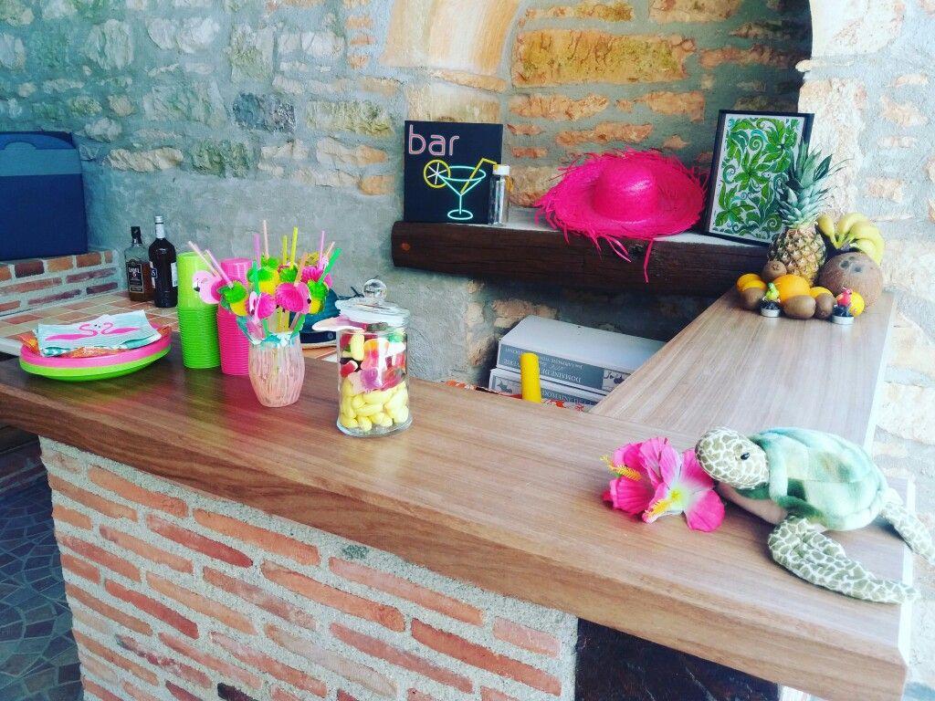 #bonbon #tortue #pink #Hawaï #cocktails #color