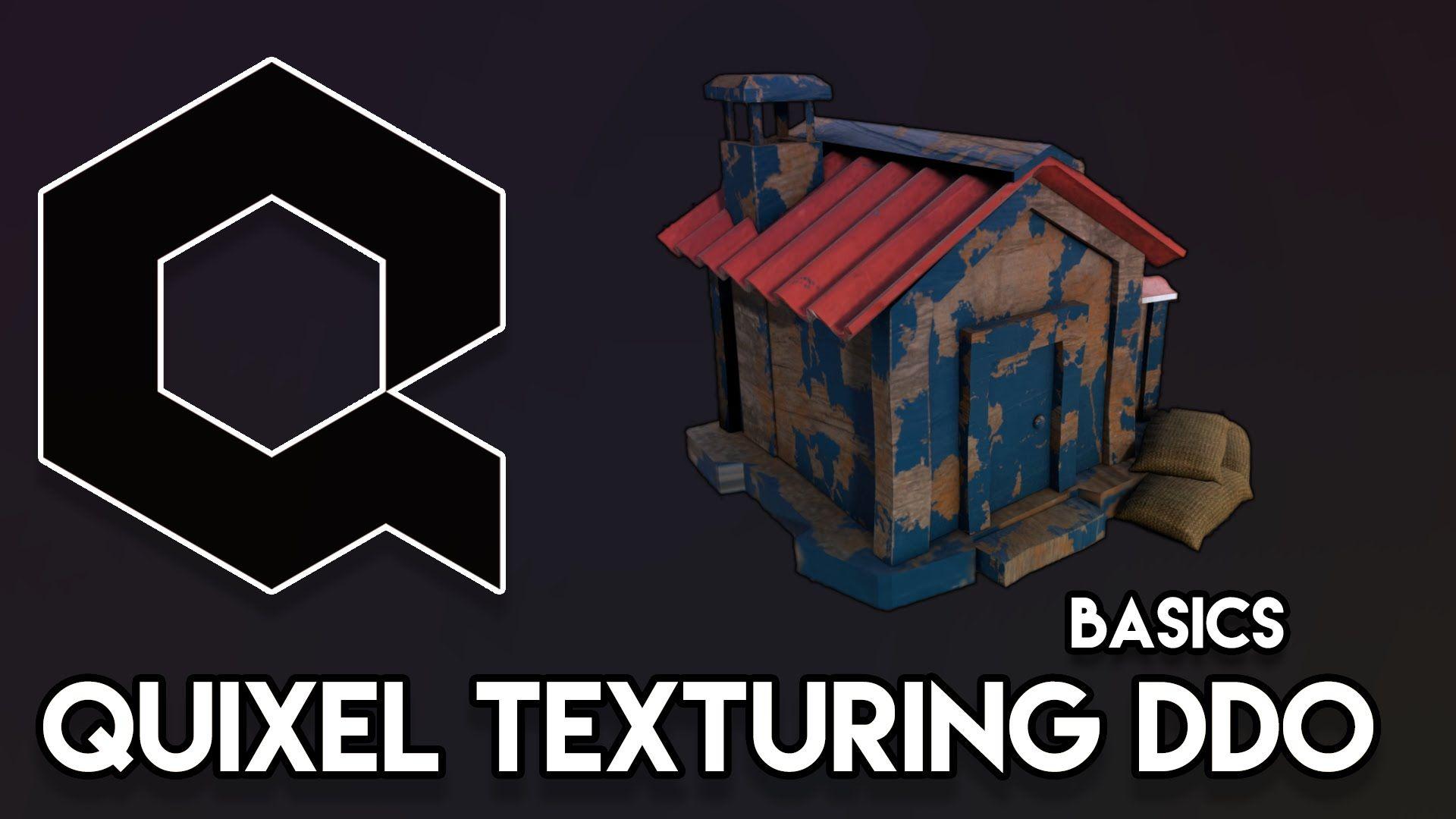 Quixel Basic DDO Texturing Tutorial Tutorial, 3d