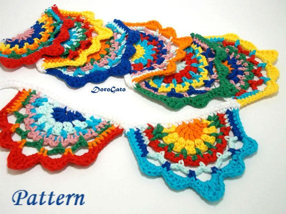 This Item Is Unavailable Crochet Garland Crochet With Cotton Yarn Crochet Bunting Pattern