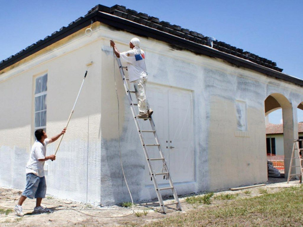 How To Paint An Exterior Wall To Get A Smooth Result House Paint Exterior Interior Wall Paint Exterior Paint