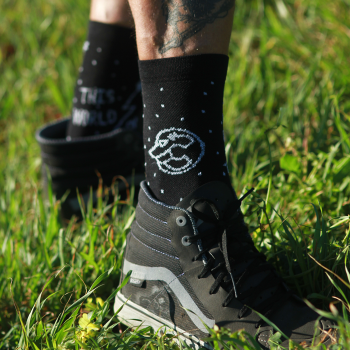 CHAS x CINELLI 'THE RIGHT FOOT' SOCKS