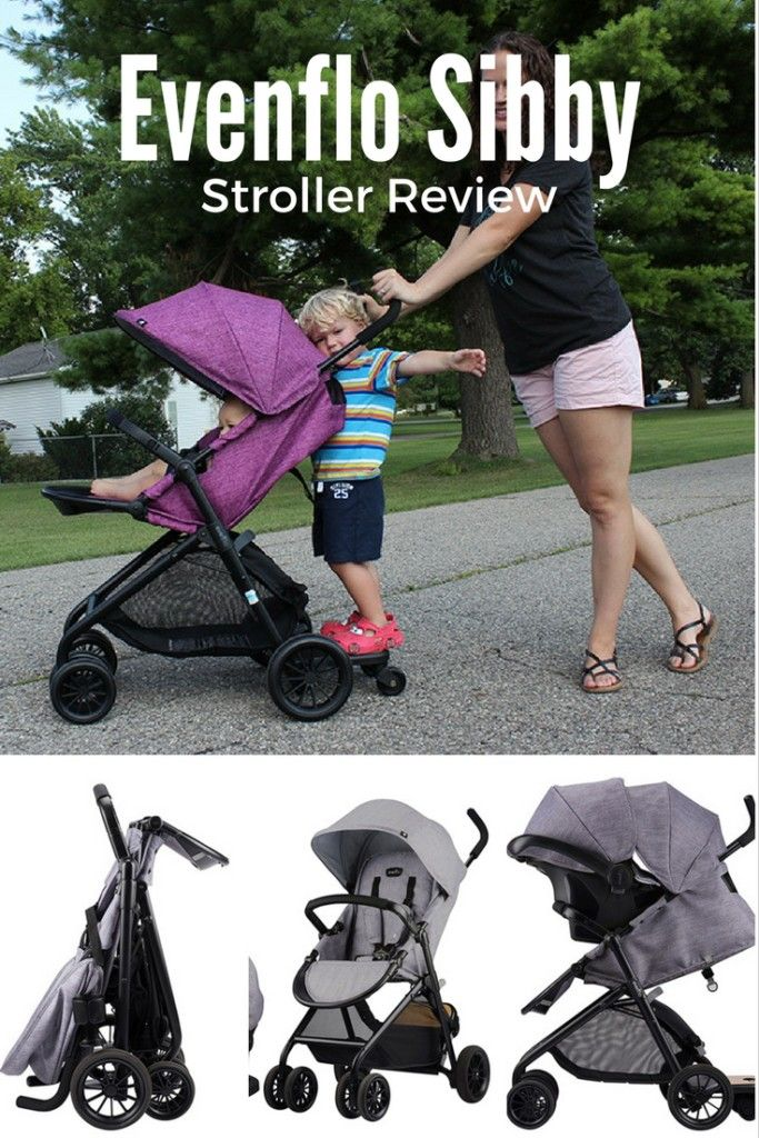 The Evenflo Sibby is a great stroller for those with an