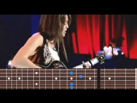 Miley Cyrus - Butterfly Fly Away guitar chords | guitar | Pinterest ...