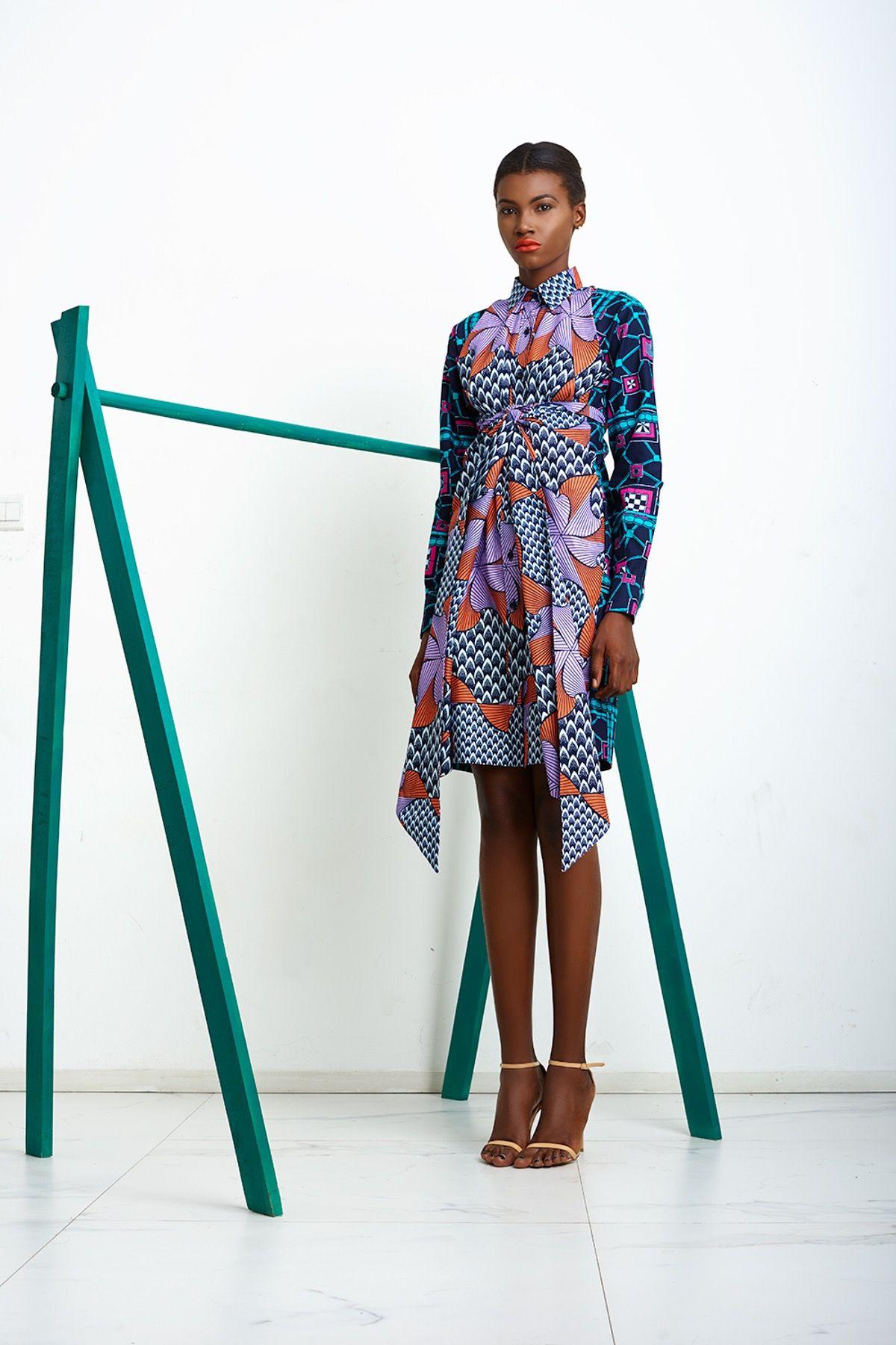 Lisa Folawiyo Fashion Fabric Nigerian Fashion Designers African Fabric Dress
