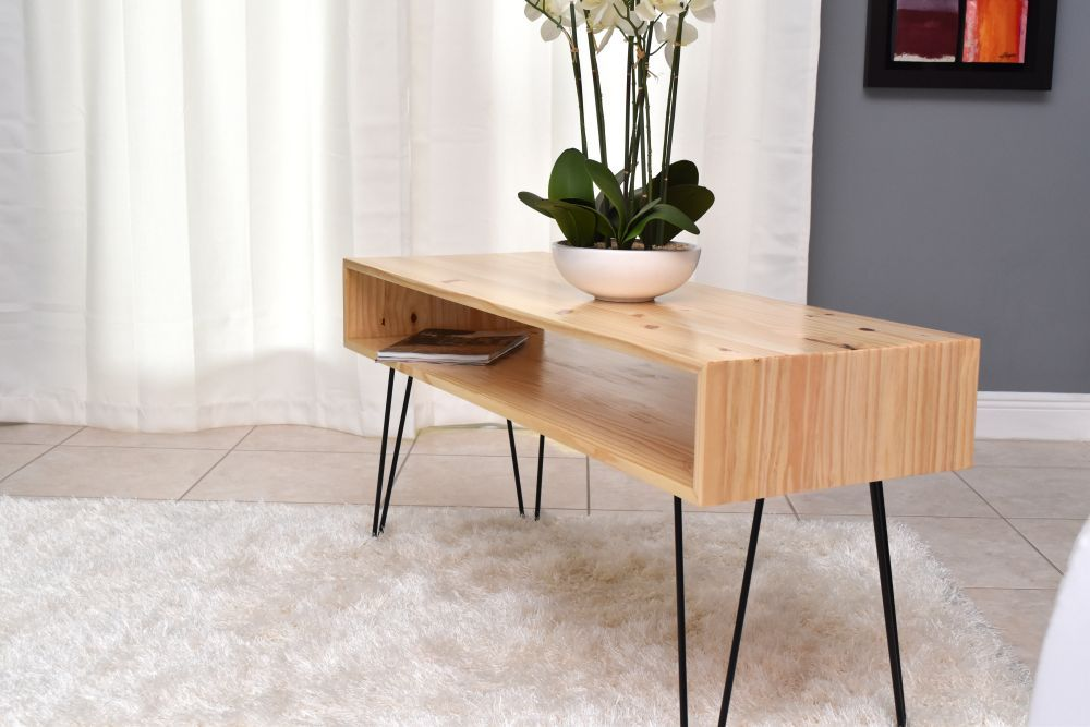 How To Make A Coffee Table With Hairpin Legs Selbstgemachte