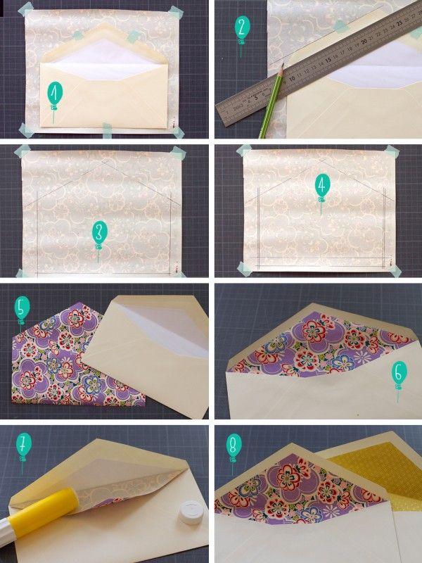 DIY – Les enveloppes graaaand luxe