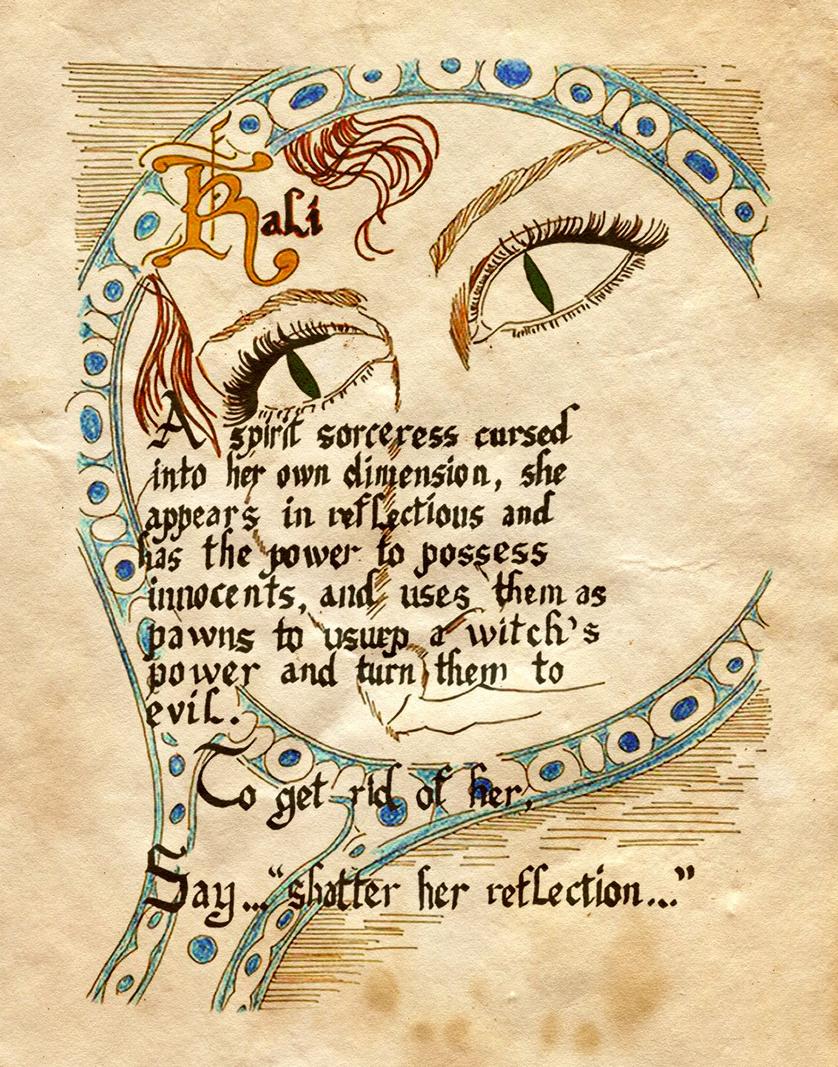 """""""Kali"""" - Charmed - Book of Shadows, YOU DO NOT WANT TO MEET HER"""