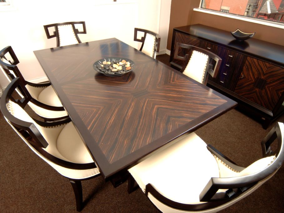 art deco dining table | shilou furniture | ohio furniture
