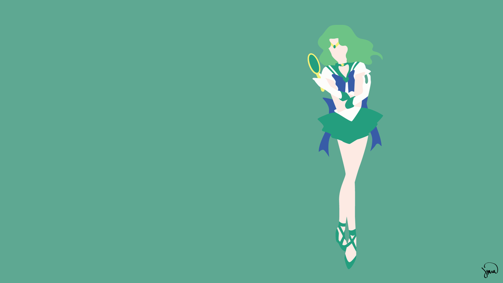 Sailor Neptune Sailor Moon Minimalist Wallpaper Sailor Neptune Sailor Moon Crystal Sailor Moon Character