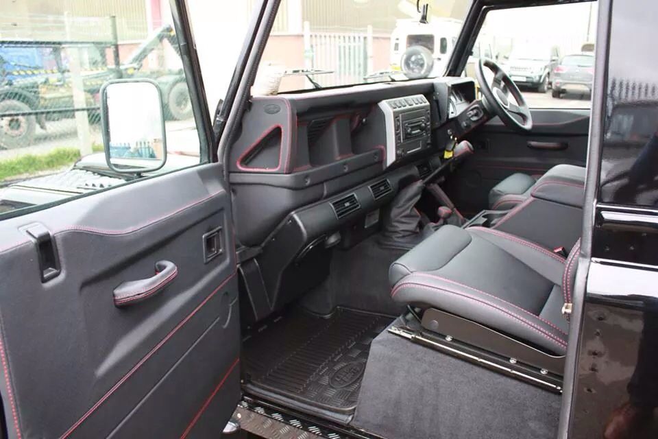 Leather Trimmed Td5 Defender Whip Misc Interior Pinterest Land Rovers Land Rover