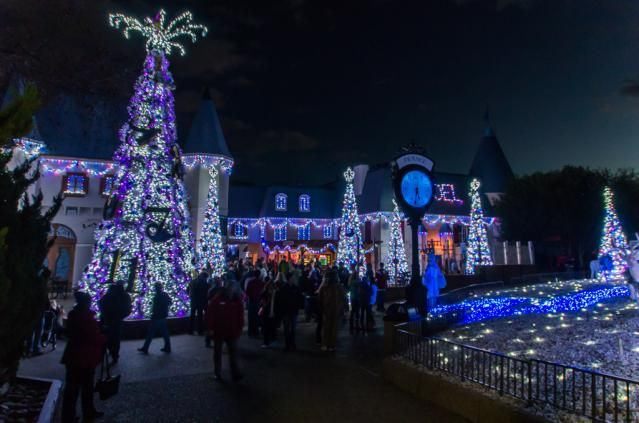 What Time Does Busch Gardens Open For Christmas Town
