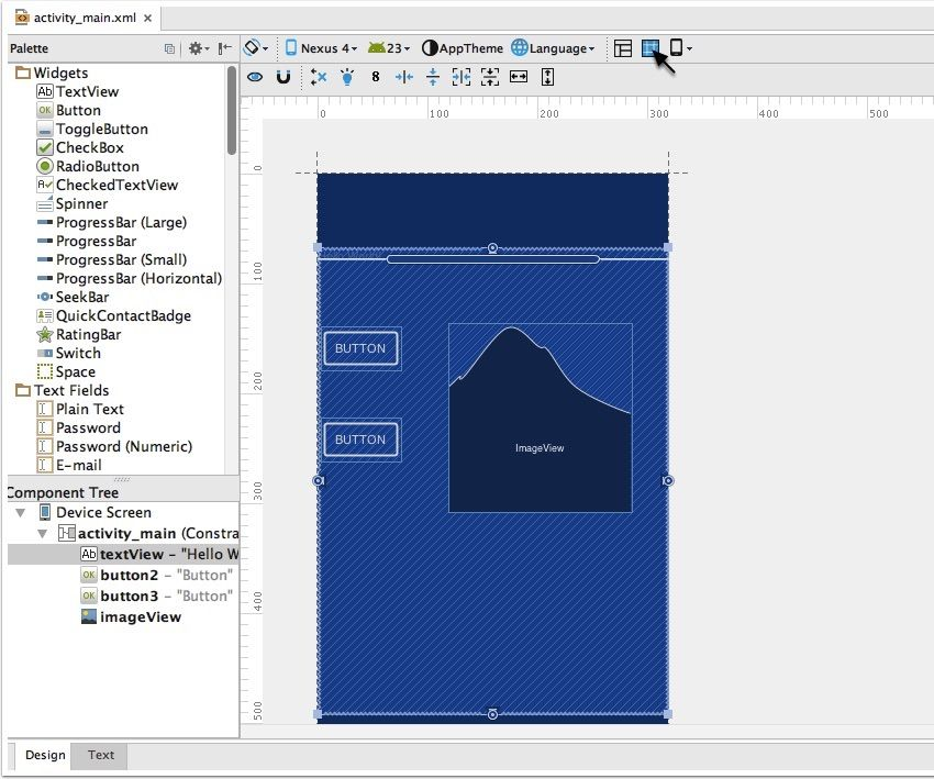 Whatu0027s New in Android Studio 22? Android studio, Android and Studio - new blueprint sites css