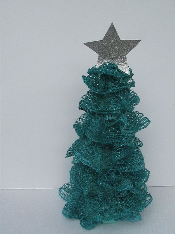 Christmas Ruffle Tree | Pinterest