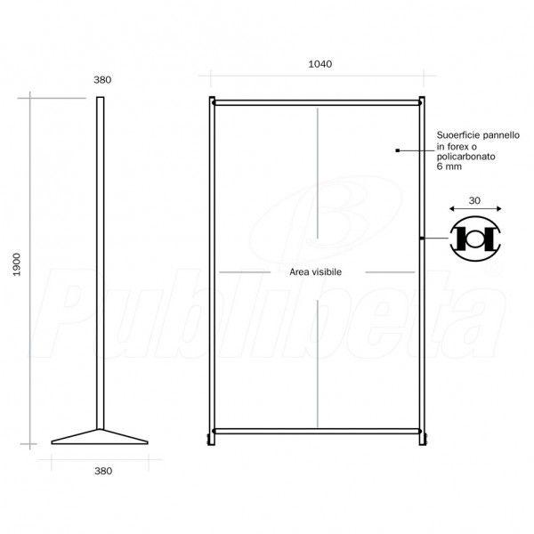 Publibeta® | Pannelli divisori pareti divisorie per ...
