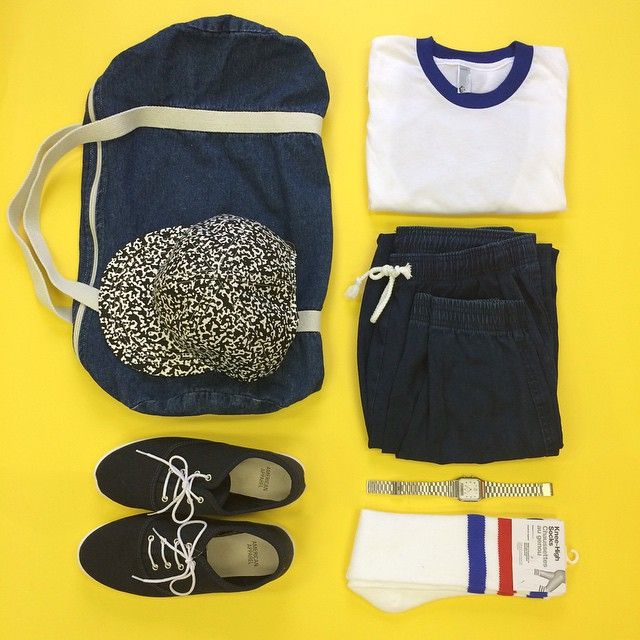 Athletic basics for him (or her).