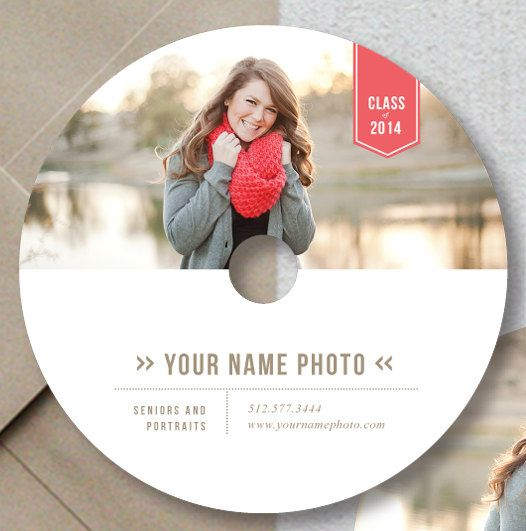 Photographer Templates - Photoshop Templates - DVD Design for Photographers - PSD Designs - g0008 on Etsy, $10.00