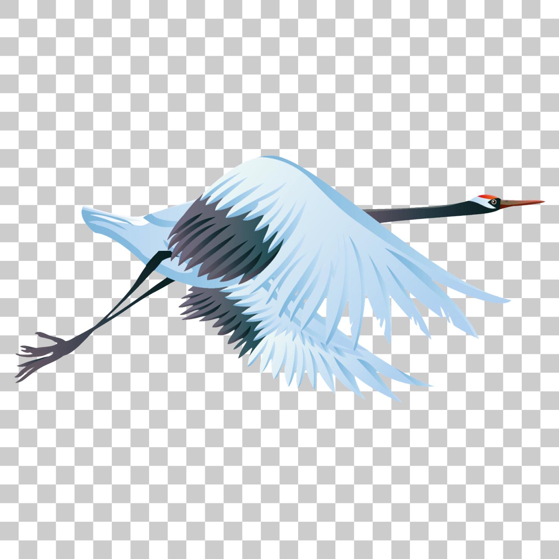 Crane Stork Bird Png Image With Transparent Background Png Images Stock Images Free Stork Bird