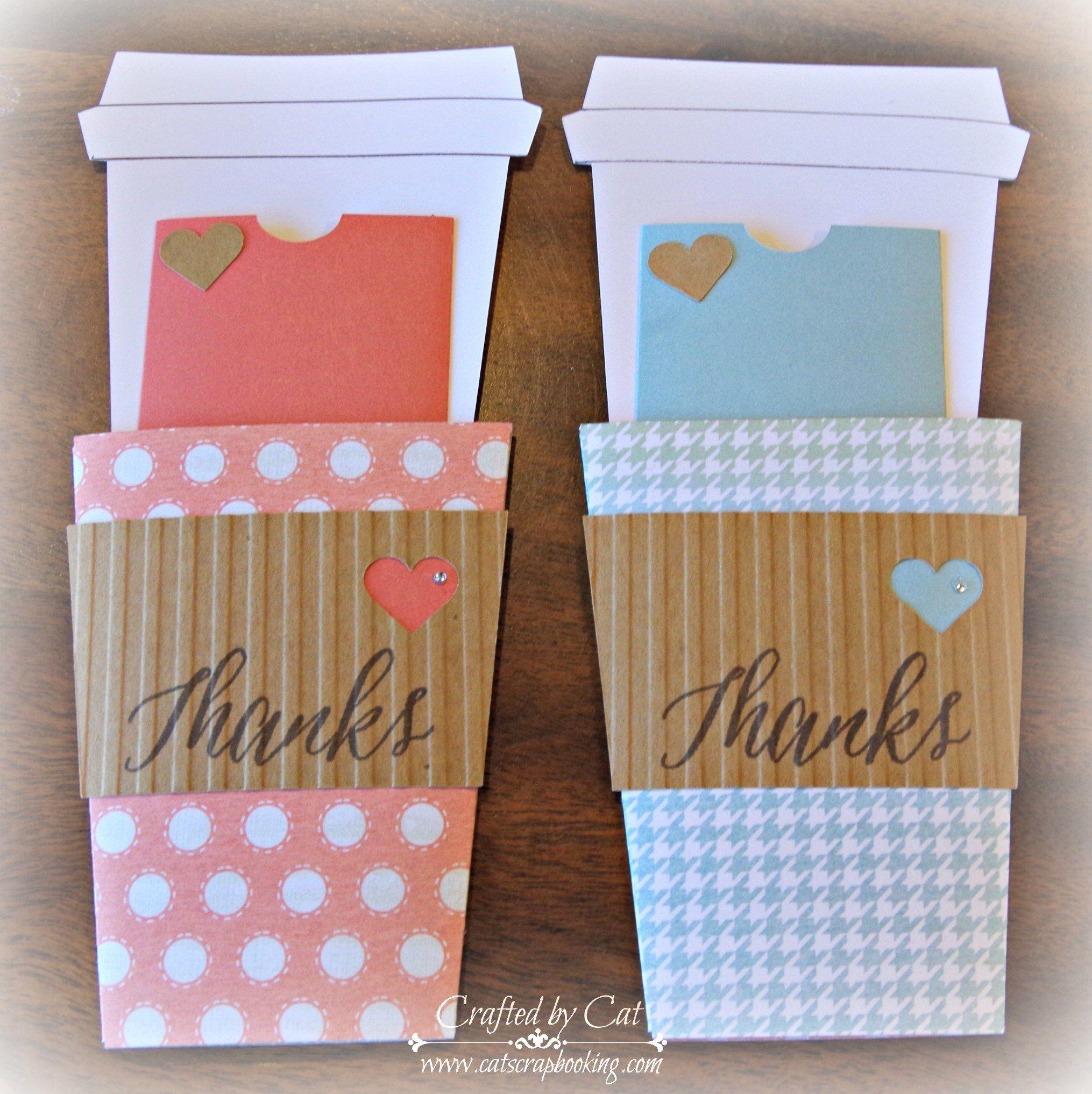 Thank You Gift Card Holder Inside
