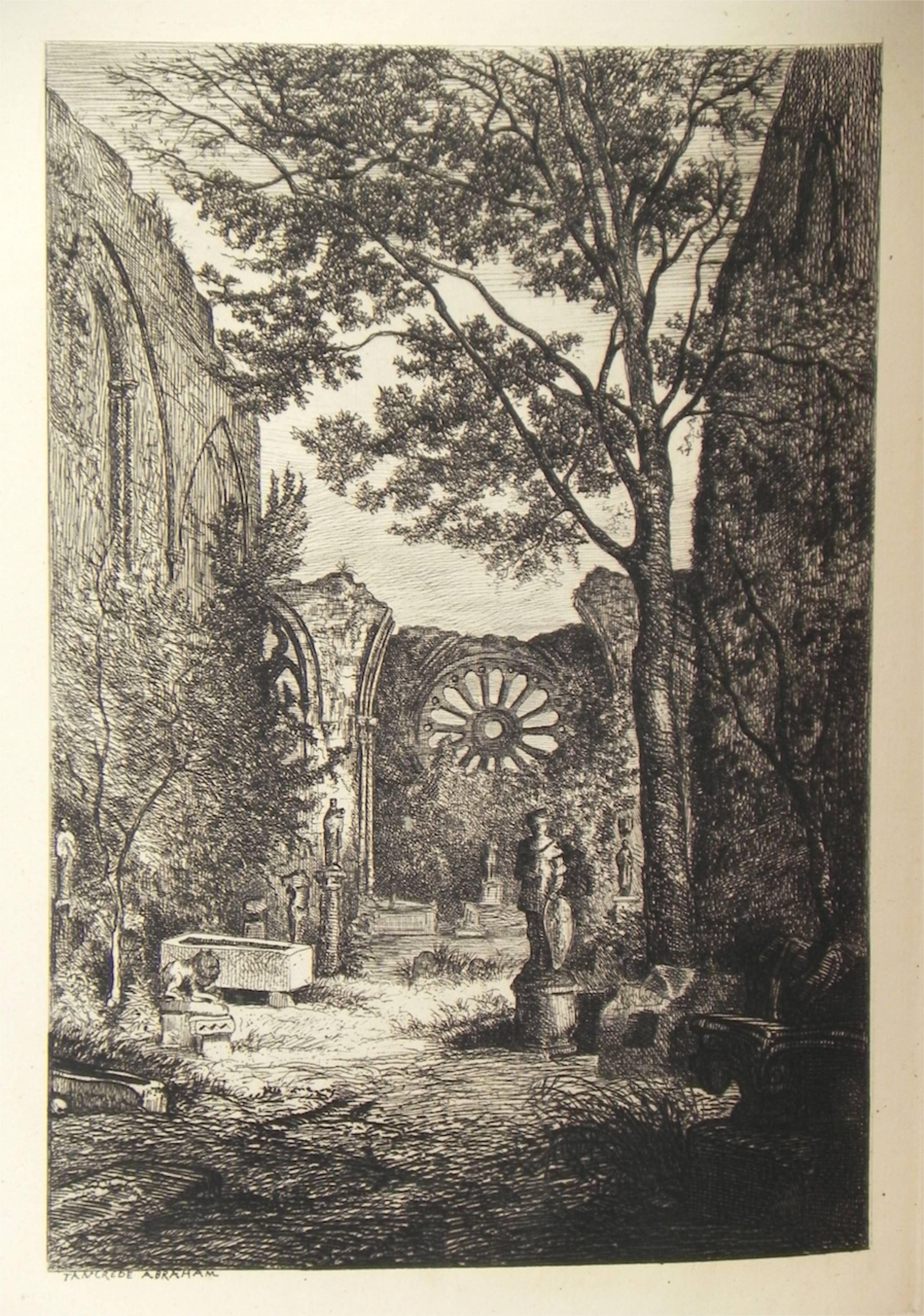 Angers et ses environs. Album de gravures à l'eauforte