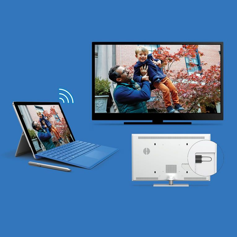 Microsoft wireless display adapter 2 lets you connect