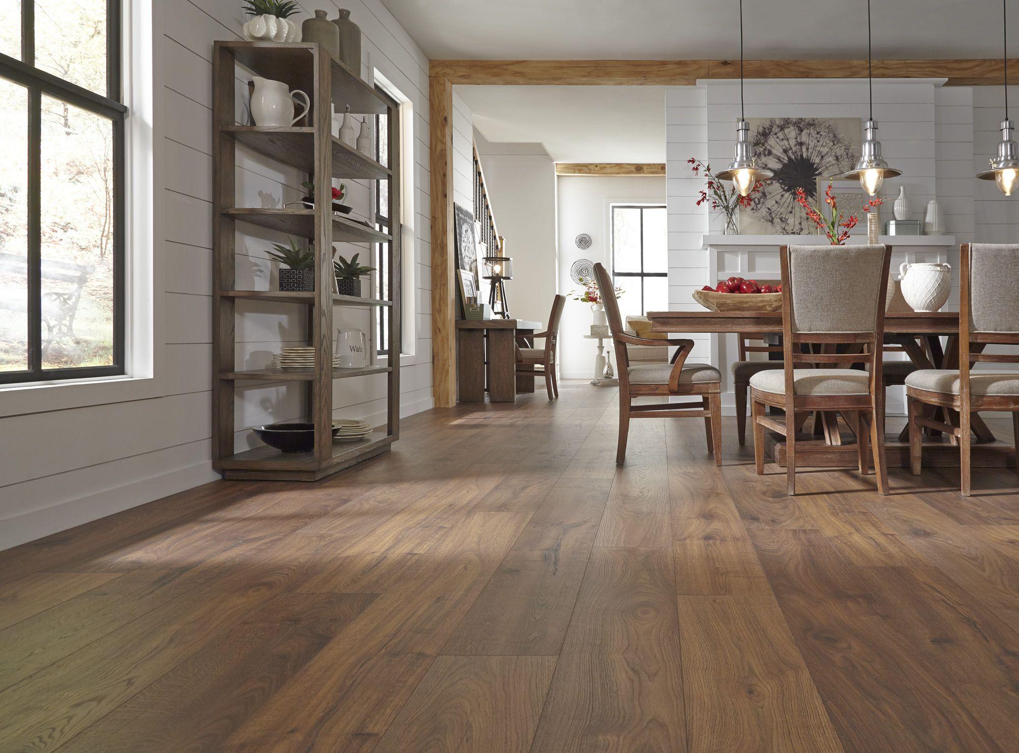 Dream Home X2O laminate looks & feels like hardwood and
