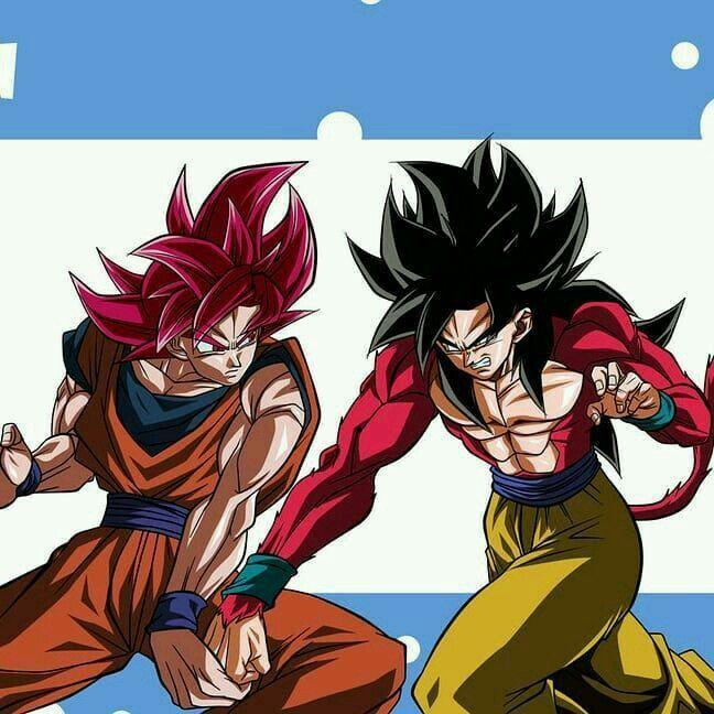 Goku Super Saiyan God Vs Goku Super Saiyan 4 Dragon Ball Super Goku Dragon Ball Art Dragon Ball Z