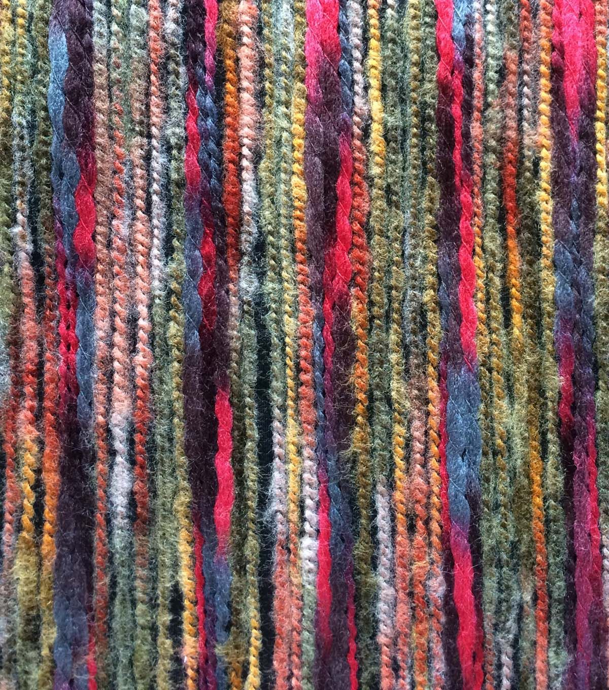 Autumn Equinox- Felted Knit Multi Colored FabricAutumn Equinox- Felted Knit Multi Colored Fabric,