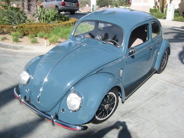 1952 Vw Beetle Split Window Volkswagen Volkswagen Beetle Karmann Ghia