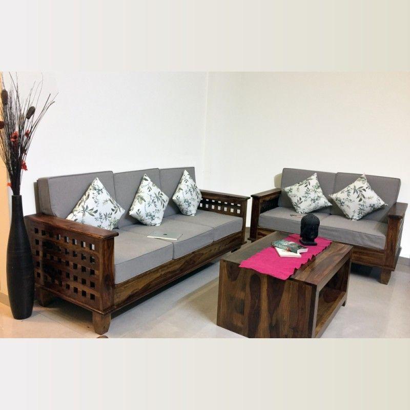 Furniture Sofa Set And Its Benefits Anlamli Net In 2020 Wooden Sofa Set Wooden Sofa Sofa Design