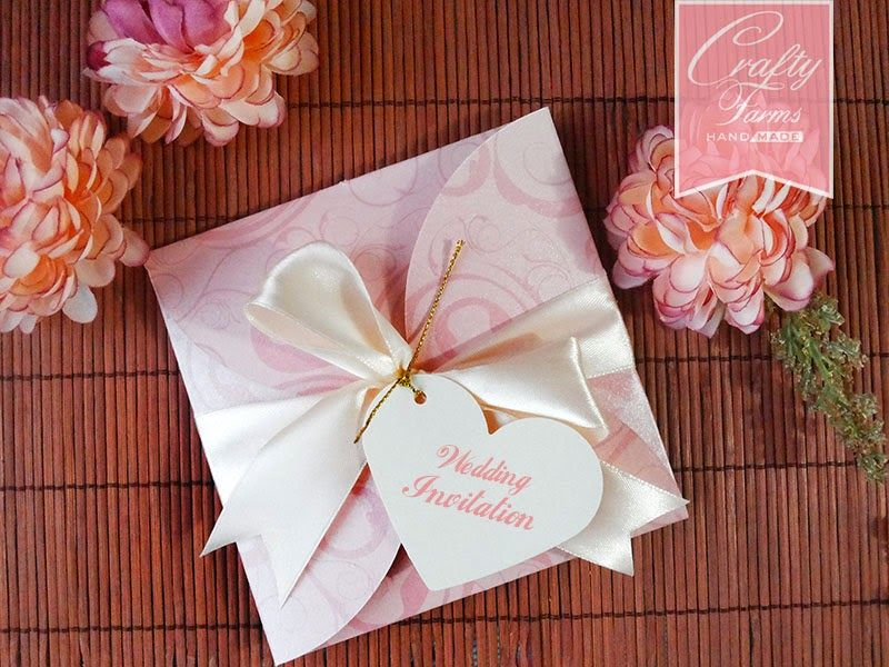 Modern Handmade Wedding Invitations Cutewedding Xyz