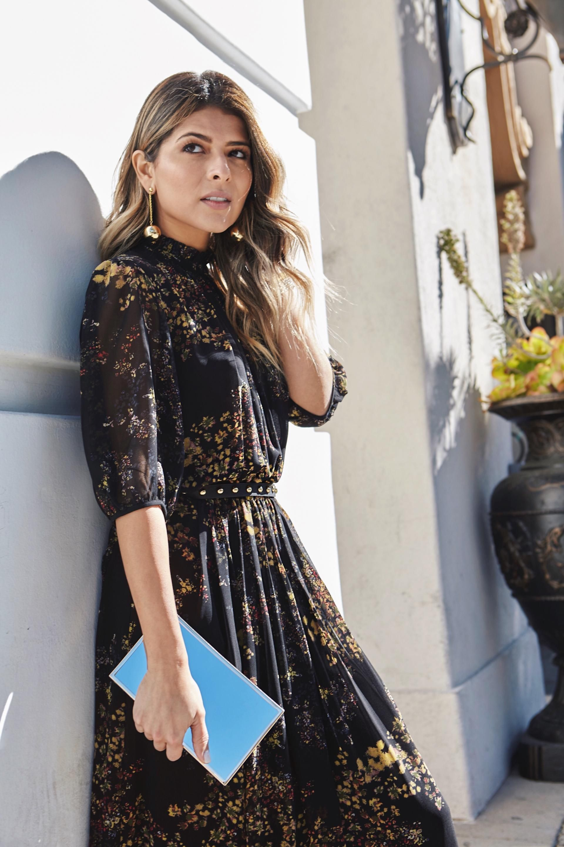 7 Chic Long Dresses To Wear To A Wedding Pam Hetlinger The Girl
