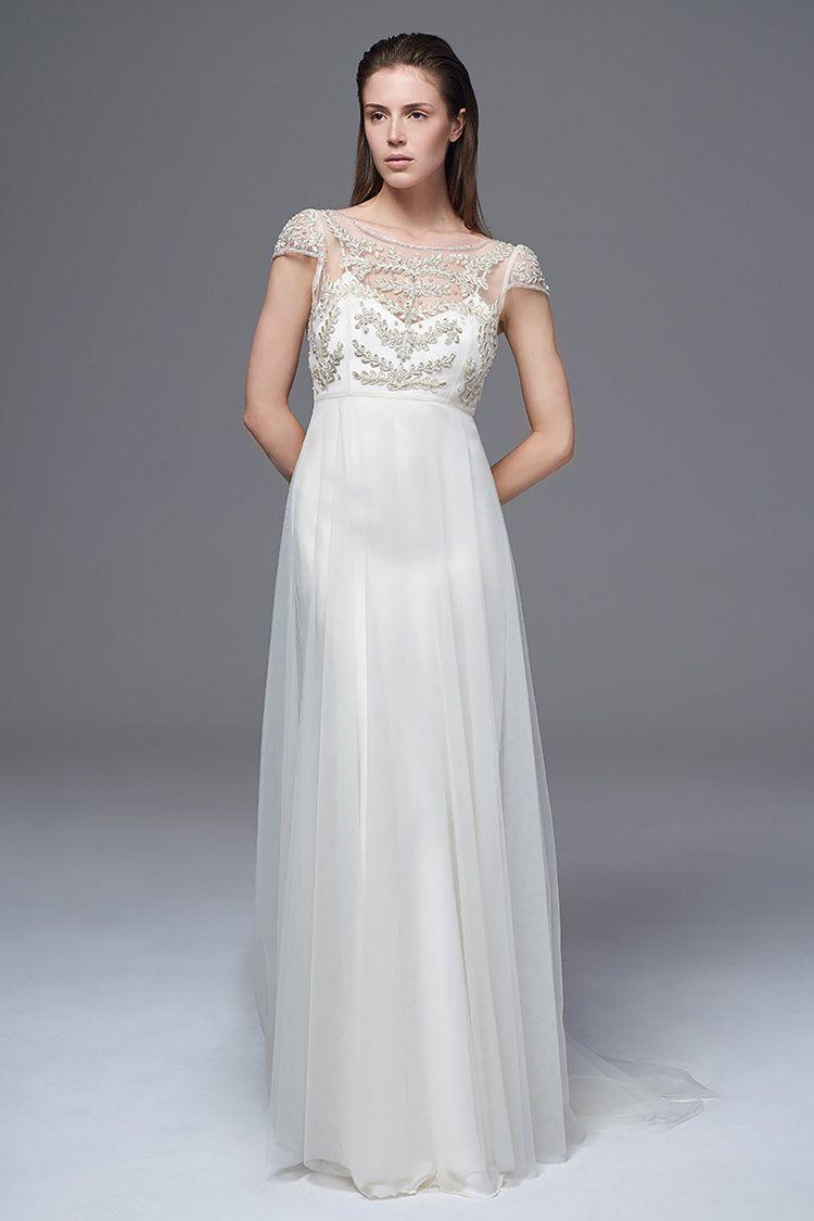 Elaine bodice wedding dress and vintage inspired