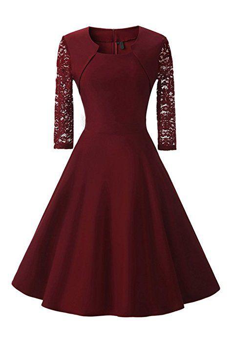 Damen Abendkleid mit angenähtem Bolero und 3 4 Ärmel, (Kostor) A ... e054099dc8