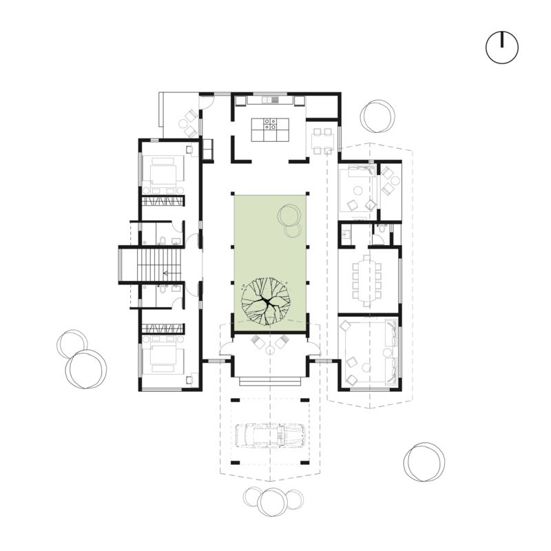 The Mango Tree House Dxd Architects Illustrarch Tree House Playground Floor Plan Architectural Floor Plans