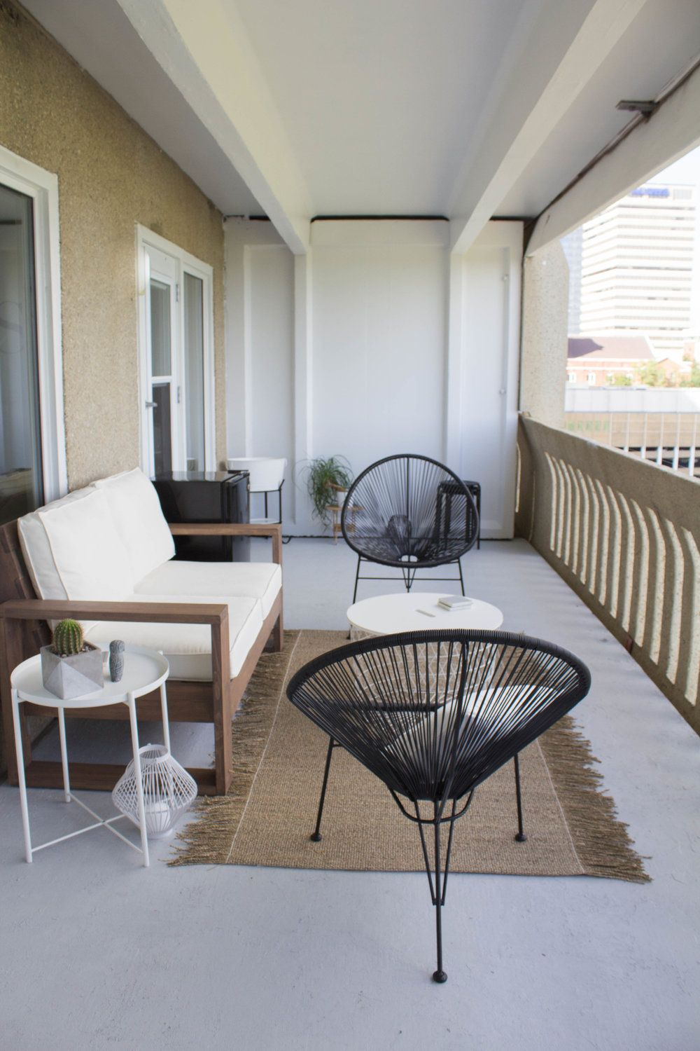 Image result for minimalist balcony decor