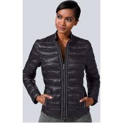 Photo of Alba Moda, giacca trapuntata con dettagli decorativi, Alba Moda nera