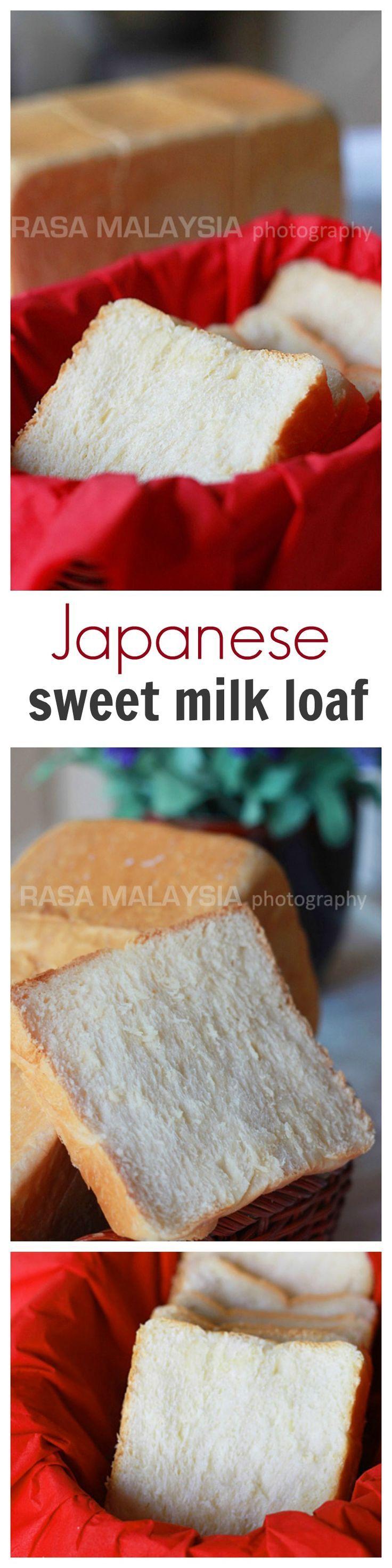 Japanese Shoku Pan // 4 1/2 c bread flour 1/2 c AP flour ...