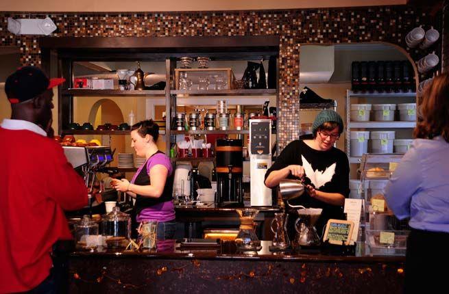 America's 15 Best Indie Coffee Shops - Buona Caffe Artisan Roasted Coffee in Augusta, Ga