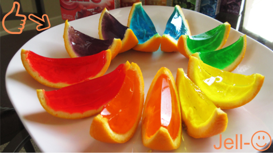 How to make Jell-O Oranges