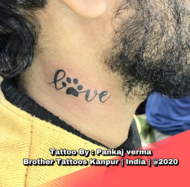 #pets #petlover #petlovers #kanpur #tattoolover #brothertattooz #tattooartist #tattooartistmagazine