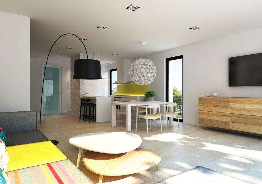 Modern residential interior: 6 color ideas for Interiors | Loft ...