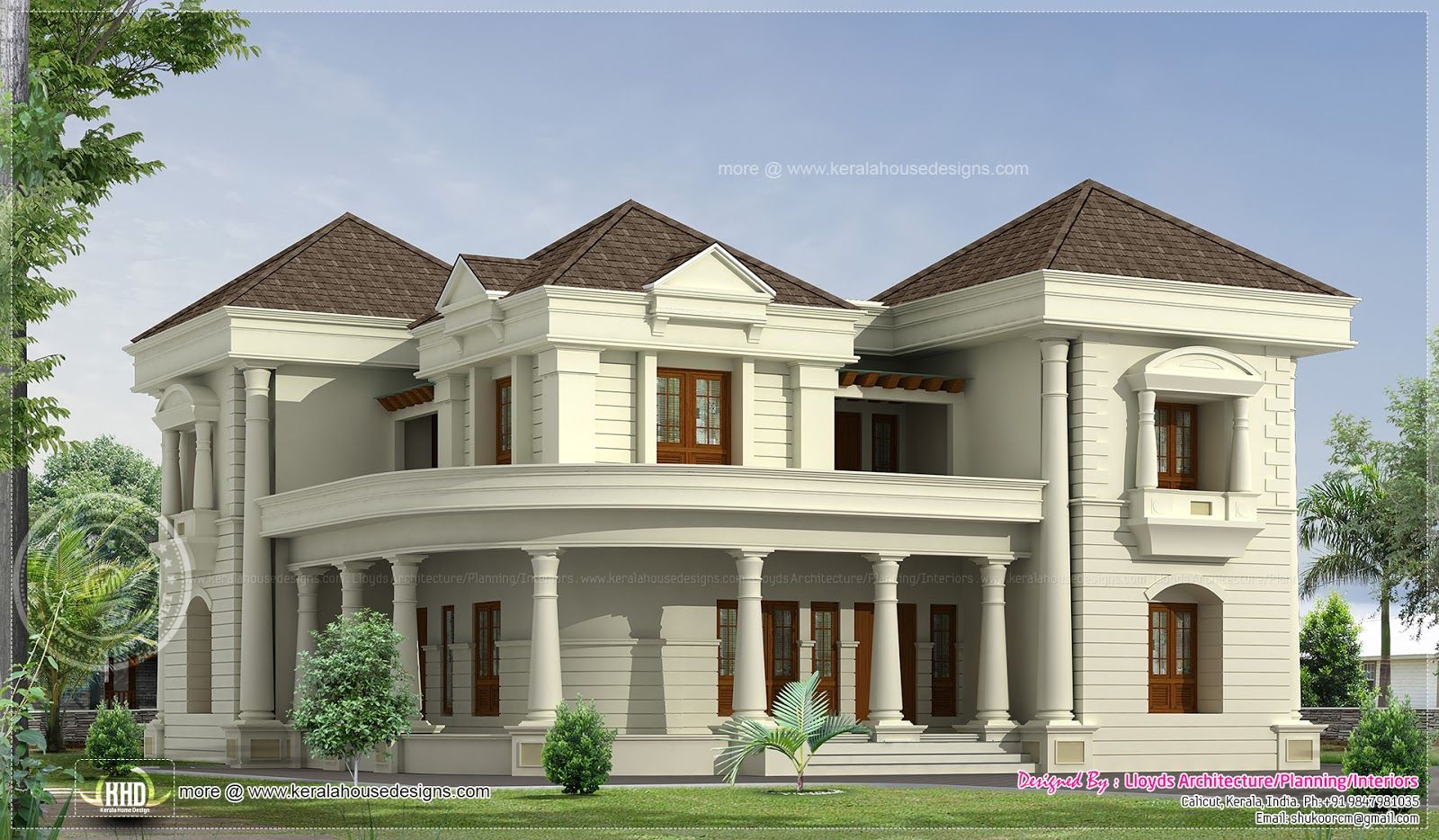 Modern bungalows bedroom luxurious bungalow floor plan for Modern house designs 3d