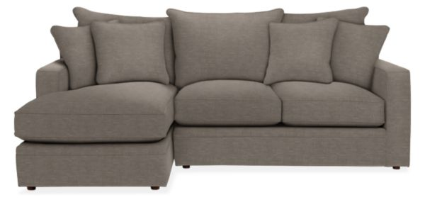 Orson Sectionals Couch With Chaise Room Modern Sectional