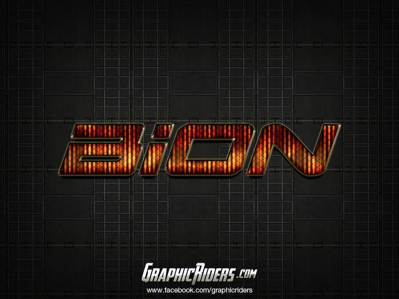 GraphicRiders   Sci-fi style – Bion (free photoshop style, text effect, free psd file) #graphicriders