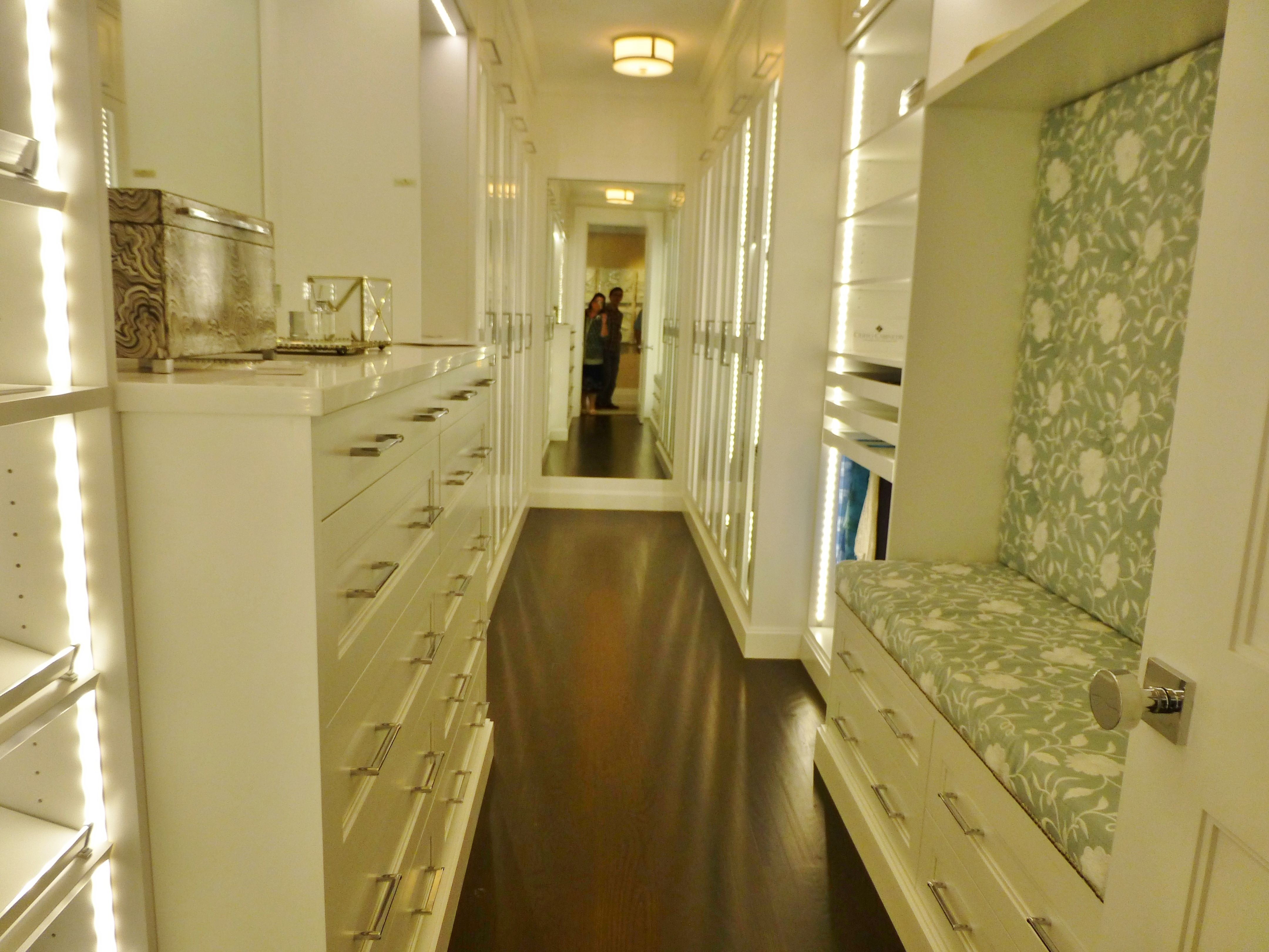 pictures to hang in master bathroom%0A master bathroom closet layout  Google Search